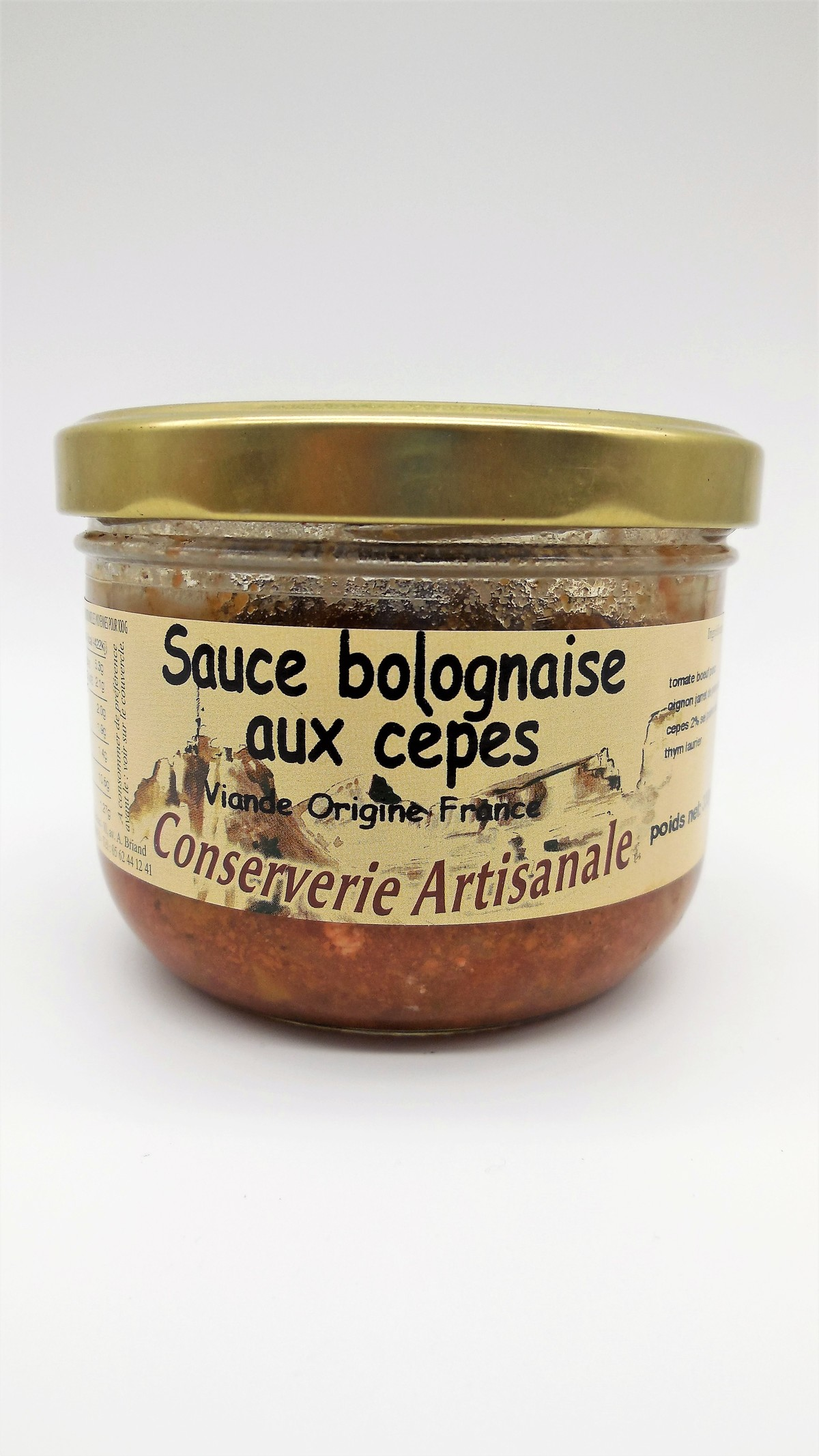Sauce Bolognaise aux Cèpes