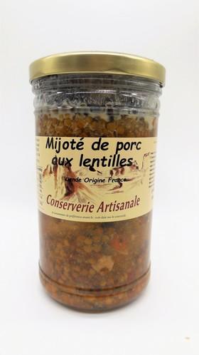 Mijoté aux Lentilles